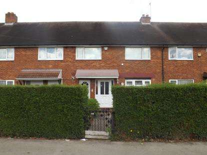 3 Bedrooms Terraced House for sale in Meriden Drive, Kingshurst, Birmingham, West Midlands