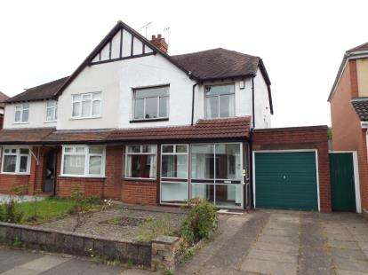 3 Bedrooms Semi Detached House for sale in Langleys Road, Selly Oak, Birmingham, West Midlands
