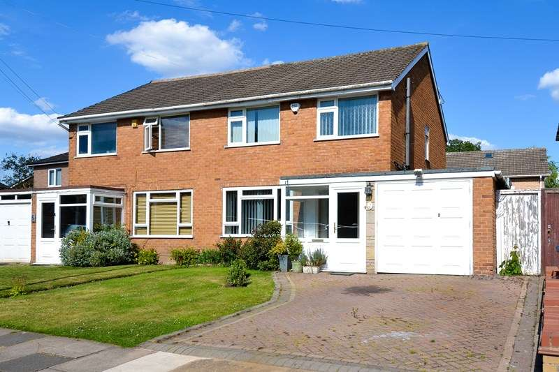 3 Bedrooms Semi Detached House for sale in Rectory Road, Northfield, Birmingham