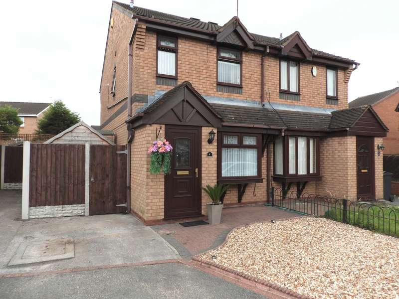 2 Bedrooms Semi Detached House for sale in Langdale Close, Kirkby