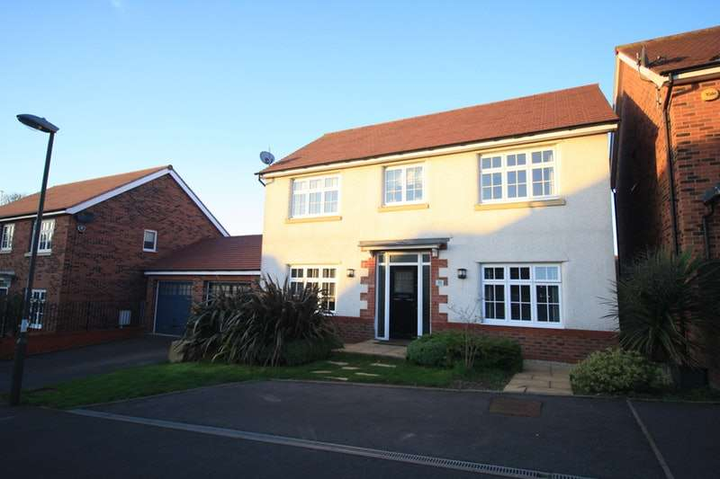4 Bedrooms Detached House for sale in Newman drive, Swadlincote, Derbyshire, Derbyshire, DE11