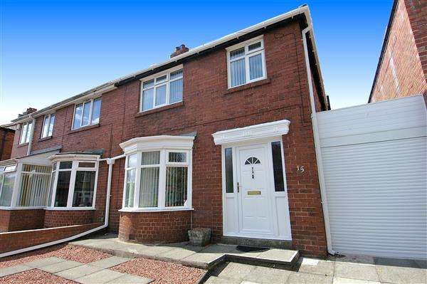 3 Bedrooms Semi Detached House for sale in Holmwood Avenue, Monkseaton