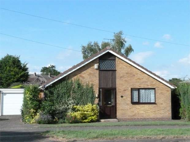 3 Bedrooms Detached Bungalow for sale in Lutterworth