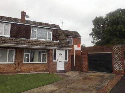 3 Bedrooms Semi Detached House for sale in Rothley Close, Ponteland, Newcastle Upon Tyne, Northumberland, NE20