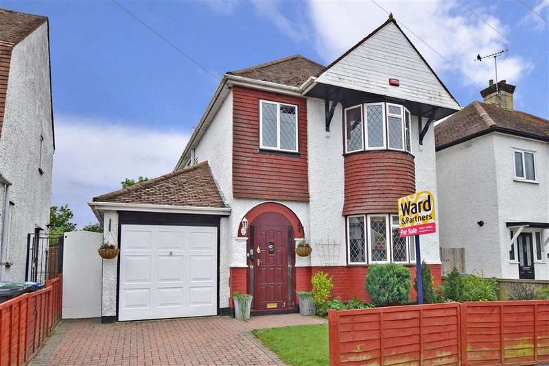 3 Bedrooms Detached House for sale in Greenhill Gardens, Herne Bay, Kent