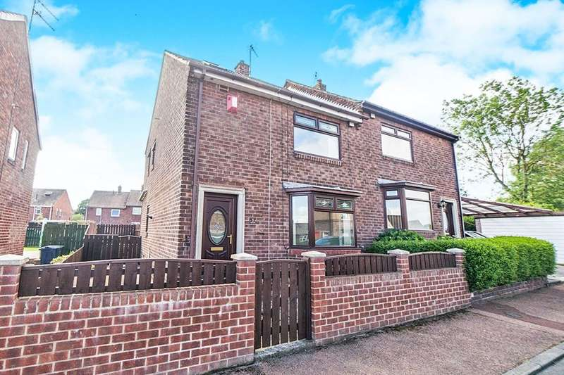2 Bedrooms Semi Detached House for sale in Eden Dale, Crawcrook, Ryton, NE40