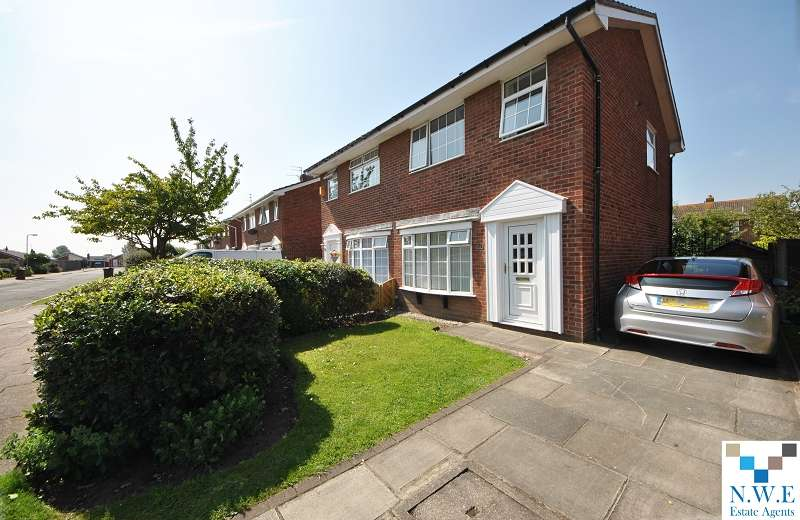 3 Bedrooms Semi Detached House for sale in Ganton Close, Southport, Merseyside. PR8 6JN