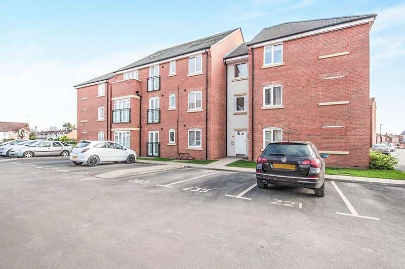 2 Bedrooms Flat for sale in Signals Drive, Coventry, CV3