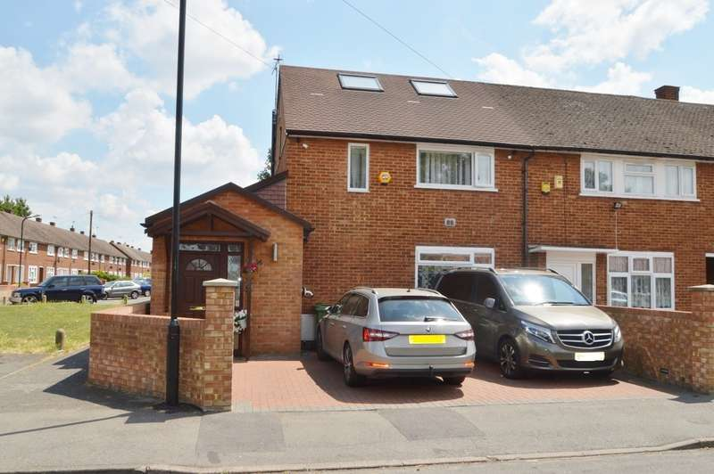 3 Bedrooms End Of Terrace House for sale in Harrow Road, Langley, SL3