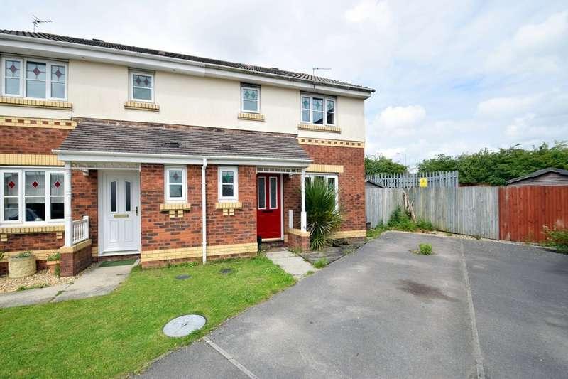 3 Bedrooms Semi Detached House for sale in 7 Bryn Gorsedd, Litchard, Bridgend, Bridgend County Borough, CF31 1PT.