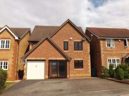 4 Bedrooms Detached House for sale in Seatallan Close, West Bridgford, Nottingham, Nottinghamshire