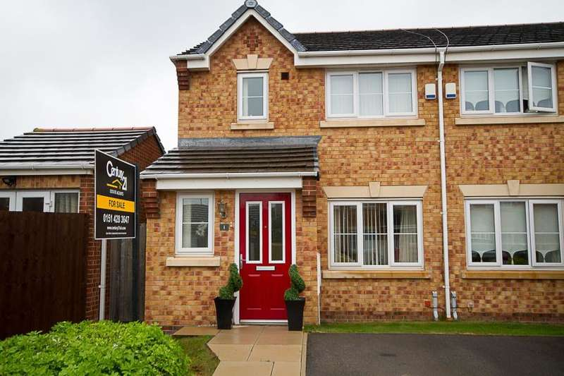 3 Bedrooms End Of Terrace House for sale in Plymouth Close, L19