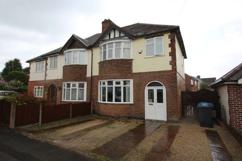 3 Bedrooms Semi Detached House for sale in Birchwood Avenue, Littleover, Derby, DE23