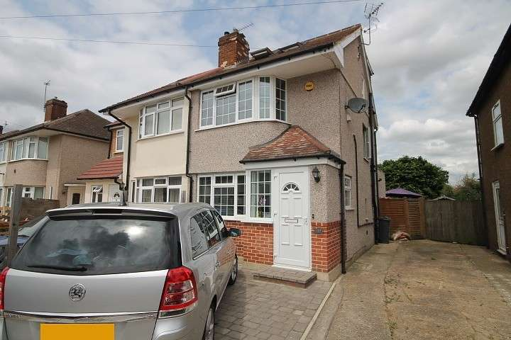 3 Bedrooms Semi Detached House for sale in Northumberland Crescent, Feltham, TW14