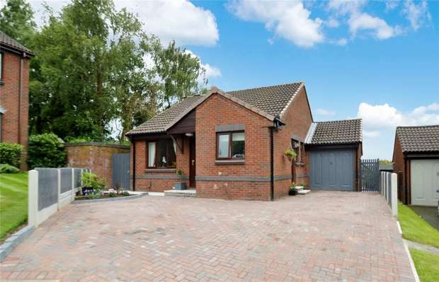 2 Bedrooms Detached Bungalow for sale in Pasture Close, Tytherington, Macclesfield, Cheshire