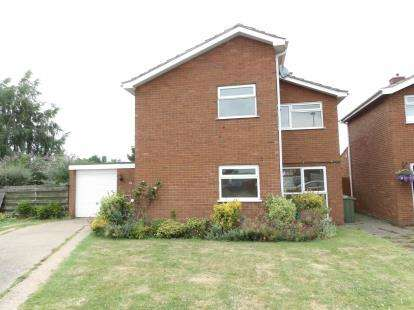 House for sale in Woburn Close, Loughborough, Leicestershire