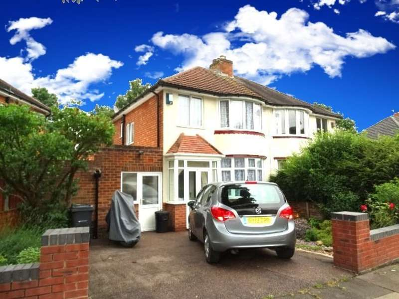 3 Bedrooms Semi Detached House for sale in Bilton Grange Road, Birmingham