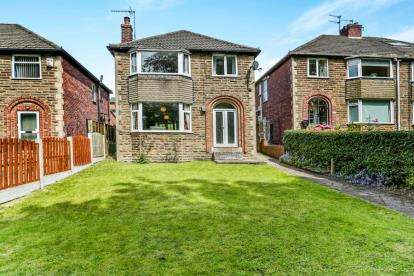 3 Bedrooms Detached House for sale in Norfolk Park Avenue, Sheffield, South Yorkshire