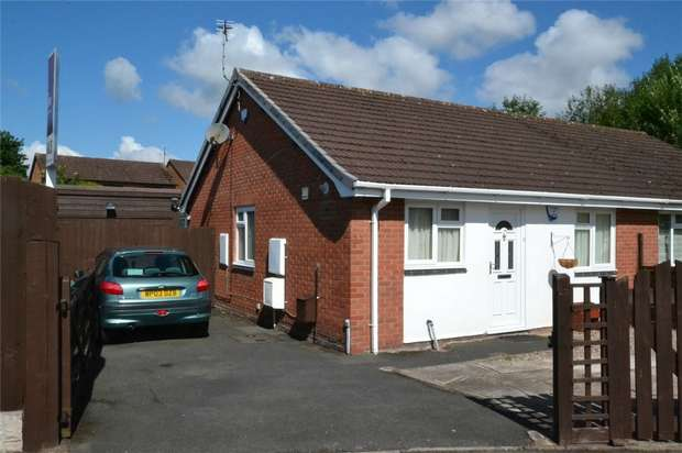 2 Bedrooms Semi Detached Bungalow for sale in Lambeth Drive, Stirchley, Telford, Shropshire