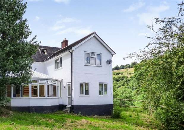 4 Bedrooms Detached House for sale in Craignant, Llanfyllin, Powys