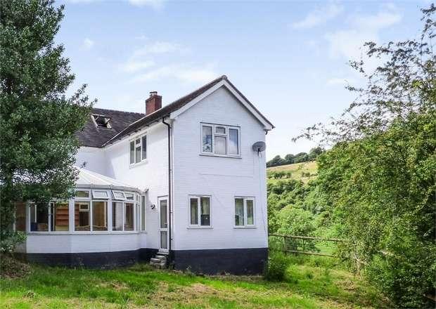 4 Bedrooms Detached House for sale in Craignant, Llanfihangel, Powys
