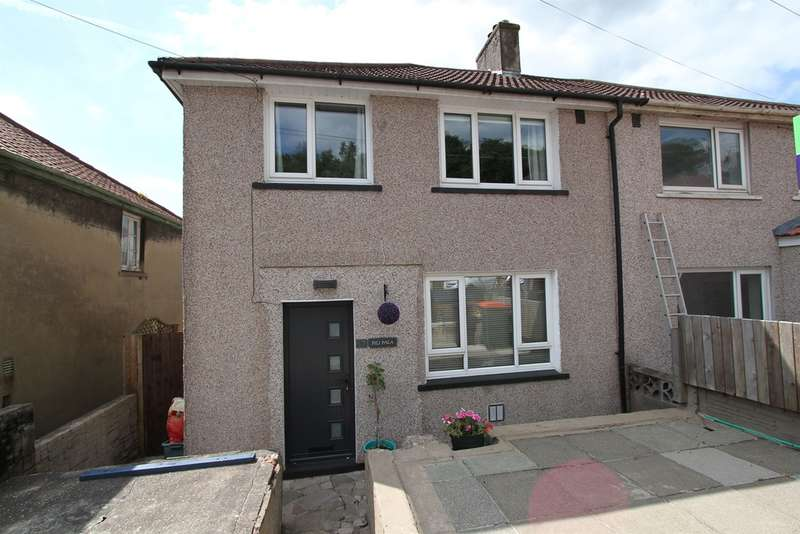 3 Bedrooms Semi Detached House for sale in Graig Park Hill, Newport