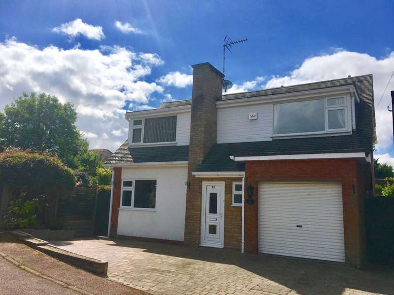 4 Bedrooms Detached House for sale in Angus Close, Thurnby