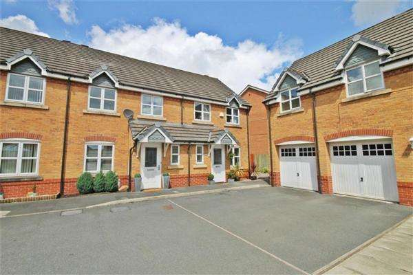 3 Bedrooms Terraced House for sale in Houston Gardens, Chapelford, Warrington