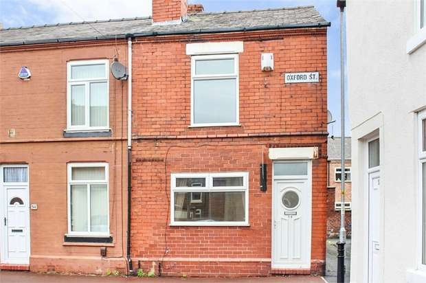 2 Bedrooms End Of Terrace House for sale in Oxford Street, Warrington, Cheshire