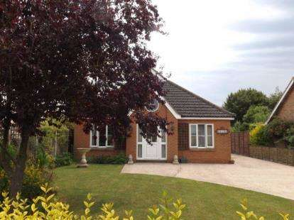 2 Bedrooms Bungalow for sale in Bunwell, Norwich, Norfolk