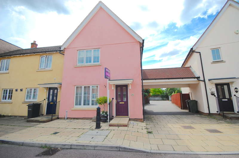 3 Bedrooms Semi Detached House for sale in Elgar Drive, Witham, CM8