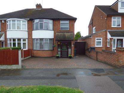 3 Bedrooms Semi Detached House for sale in Nursery Road, Leicester