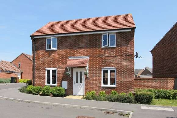 3 Bedrooms Detached House for sale in Boreway Close, Andover