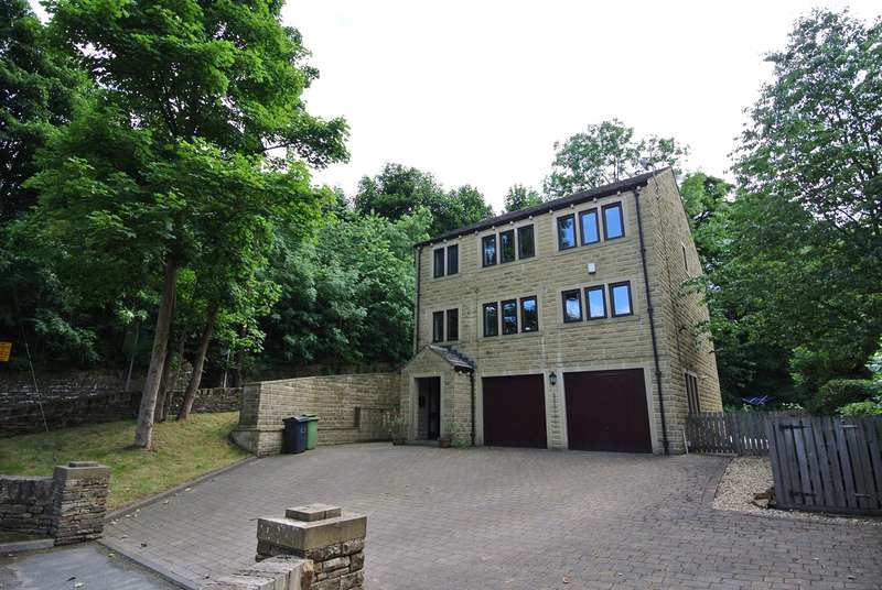5 Bedrooms Detached House for sale in Dean Brook Road, Netherthong, Holmfirth, HD9