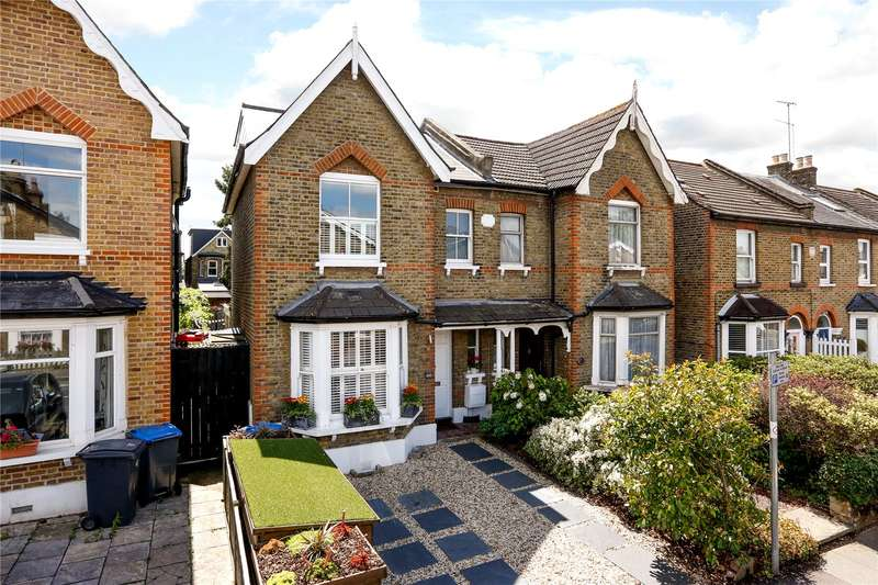 3 Bedrooms Semi Detached House for sale in Kings Road, Kingston upon Thames, KT2