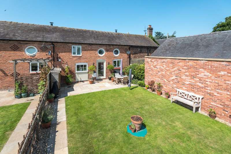 3 Bedrooms House for sale in 3 bedroom Barn Conversion Terraced in Chorley Nr. Cholmondeley