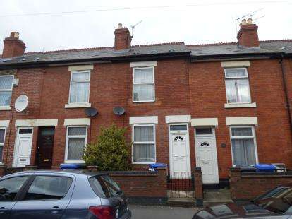 2 Bedrooms Terraced House for sale in Crewe Street, Derby, Derbyshire