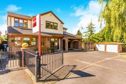 5 Bedrooms Detached House for sale in Durham Drive, Ashton-Under-Lyne, Greater Manchester, Ashton