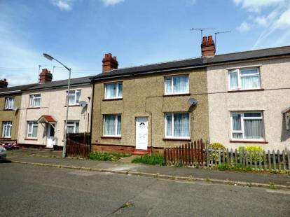 2 Bedrooms Terraced House for sale in Western Road, Bletchley, Milton Keynes, Buckinghamshire