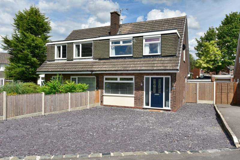 3 Bedrooms Semi Detached House for sale in Seal Road, Bramhall, Stockport, SK7 2LB