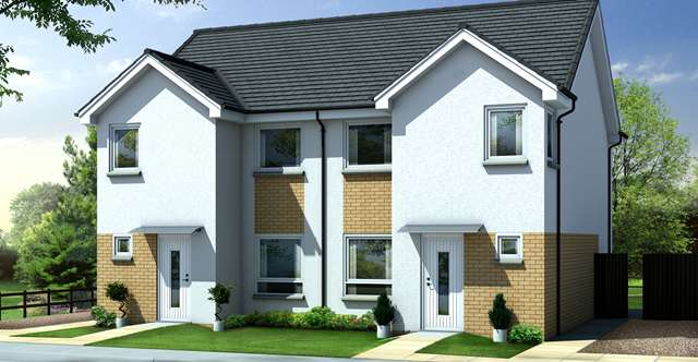 3 Bedrooms Semi Detached House for sale in Kirn Gardens, Gourock, PA19 1EF
