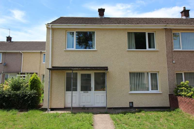 3 Bedrooms End Of Terrace House for sale in Chestnut Green, Upper Cwmbran, Cwmbran, NP44