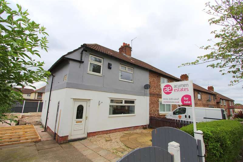 3 Bedrooms Semi Detached House for sale in Elms House Road, Old Swan, Liverpool
