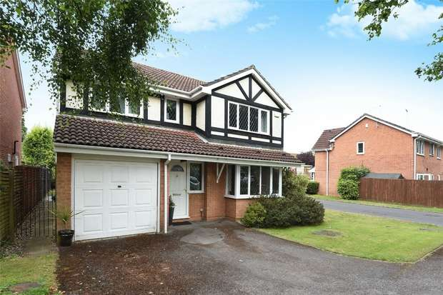 4 Bedrooms Detached House for sale in Charlton Close, Wokingham, Berkshire