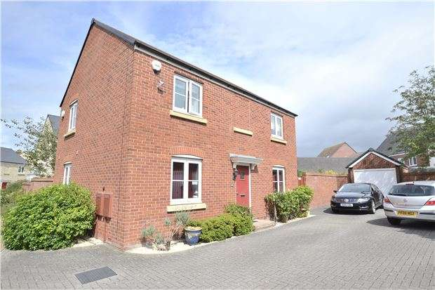 4 Bedrooms Detached House for sale in Cannon Corner, Brockworth, GLOUCESTER, GL3 4FD