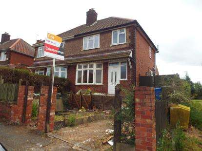 3 Bedrooms Semi Detached House for sale in The Knoll, Mansfield, Nottinghamshire