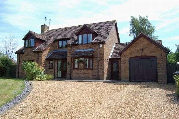 4 Bedrooms Detached House for sale in West Farm Close, Hannington, Northampton NN6 9SE