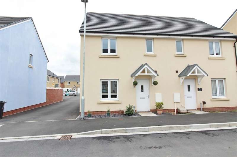 3 Bedrooms Semi Detached House for sale in Bessemer Drive, NEWPORT, NP19