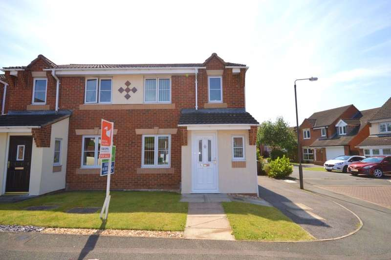 3 Bedrooms Semi Detached House for sale in Tunicliffe Court, Swadlincote, DE11