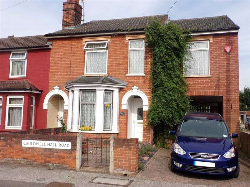 5 Bedrooms End Of Terrace House for sale in Cauldwell Hall Road, Ipswich